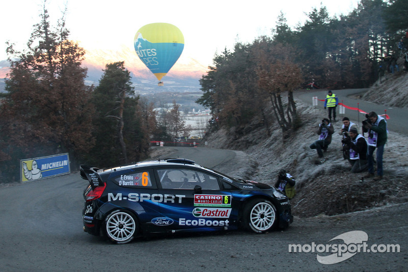 M-Sport: Midday quotes on day 2 at Rallye Monte-Carlo