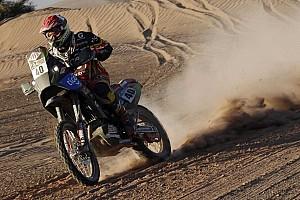 Dakar Stage report Speedbrain: On the way to the top ten