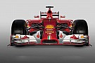 Ferrari unveils wide-nosed 2014 car