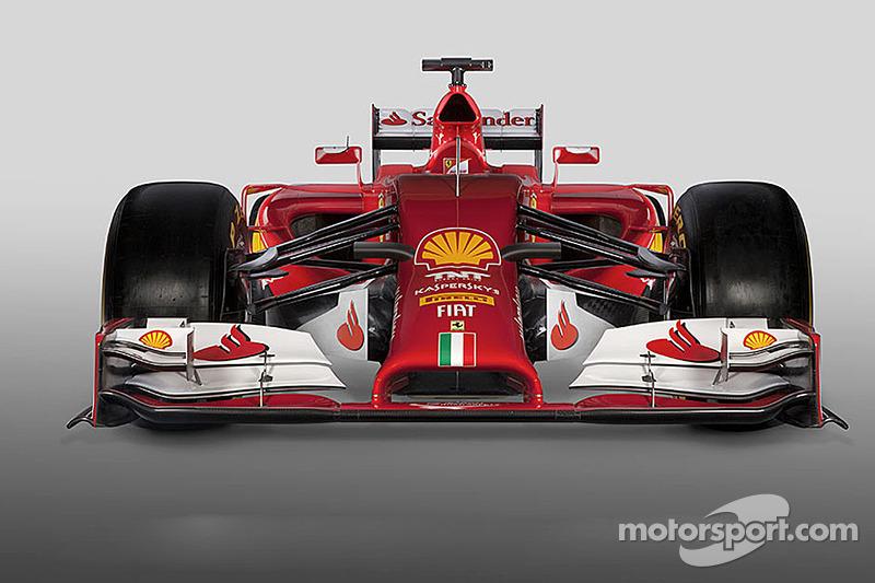 Ferrari unveils wide-nosed 2014 car