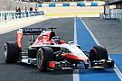 Marussia: Successful track debut in Jerez