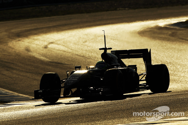 Best time for Williams' Felipe Massa on the last day test at Jerez