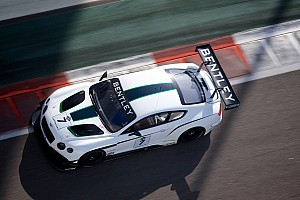 GT Preview Two brand new Bentley Continental in the Blancpain Series