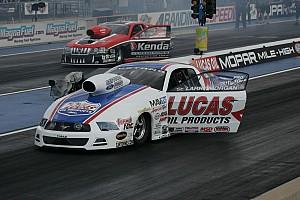 NHRA Qualifying report New season brings new hopes for Larry Morgan in Pomona