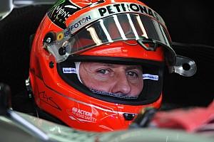 Formula 1 Breaking news Schumacher contracts pneumonia - reports