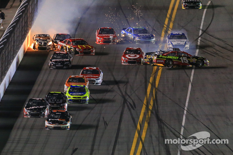 A wild night at Daytona for the Duels