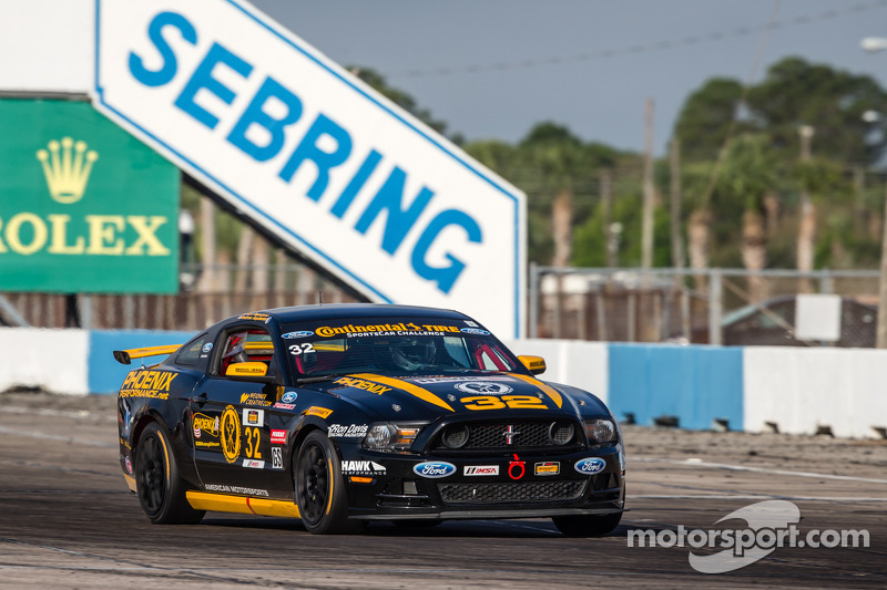 Ford, BMW pace Continental Tire SportsCar Challenge testing at Sebring