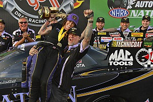 NHRA Race report Alexis DeJoria claims first win in Phoenix