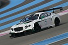 Fascinating first day of testing for the Blancpain GT Series - Bentley fastest