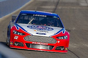 NASCAR Cup Breaking news Logano forced to backup car after happy hour incident