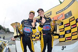 Stock car Race report Felipe Fraga and Sperafico win the first race of the 2014 StockCar Brazil season