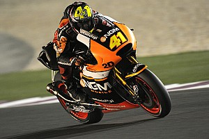 MotoGP Race report Espargaro close to the podium in debut race in Qatar