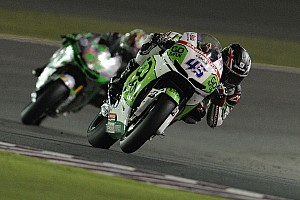 MotoGP Race report Scott makes impressive  debut in Qatar