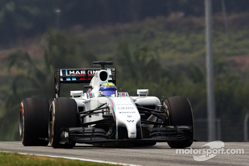 Good pace for Williams Martini Racing at Sepang