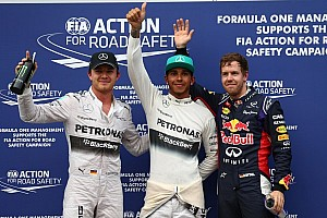 Formula 1 Qualifying report Hamilton grabs pole in soaking Sepang qualifying