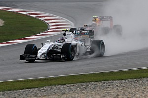 Formula 1 Qualifying report 13th and 15th for Williams Martini Racing in Malaysian qualifying