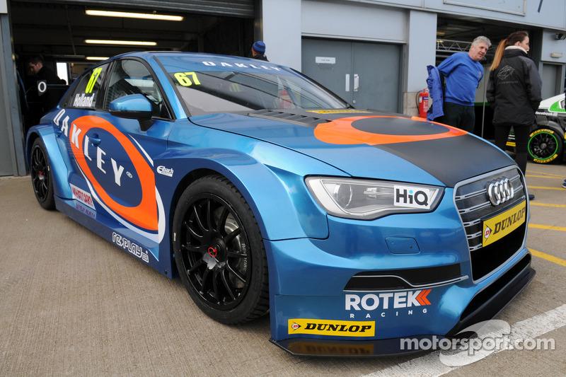 Rotek Racing has highly positive BTCC baptism at Brands Hatch