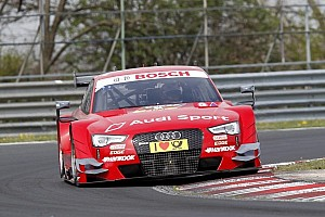 DTM Testing report Molina set the first fastest lap time of the ITR tests at Budapest