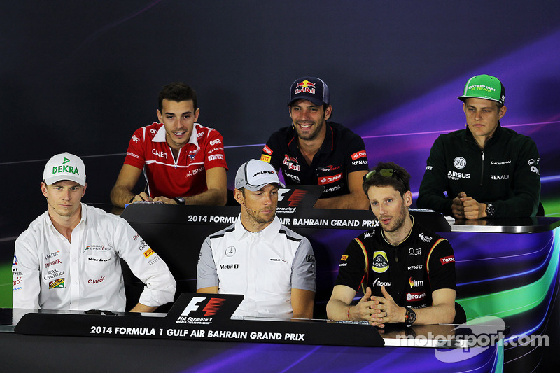 2014 Bahrain Grand Prix – Thursday press conference
