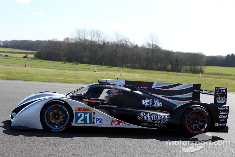 Strakka DOME S103 to make circuit debut at Paul Ricard