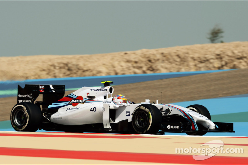 Williams Martini Racing - day two of Bahrain testing