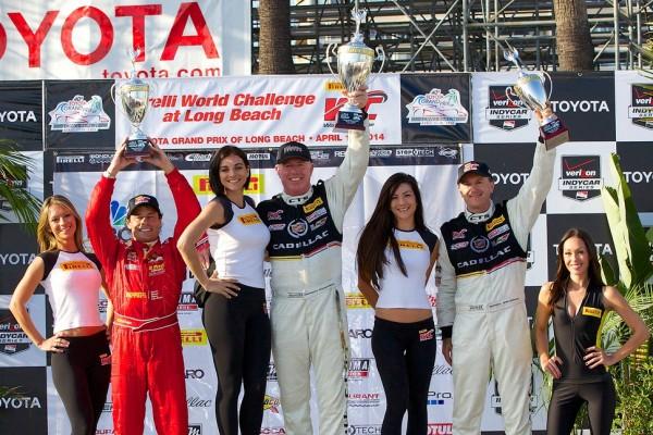 O'Connell, Jonsson, Mills Take Long Beach Pirelli World Challenge Victories