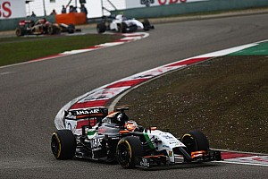 Formula 1 Race report Another ten points for Sahara Force India in China