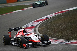 Formula 1 Race report Marussia delivered a strong two-car finish in China