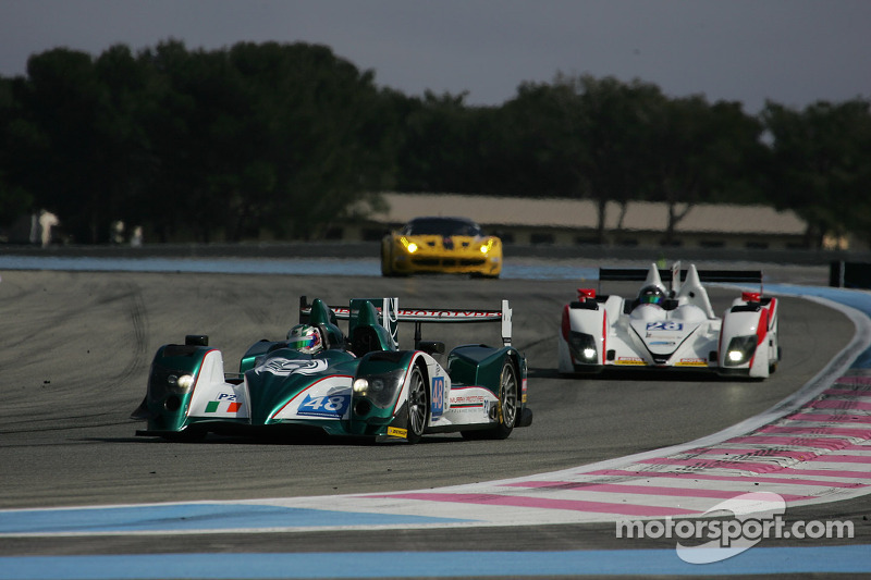 Puncture costs Chandhok and Murphy Prototypes podium  at Silverstone