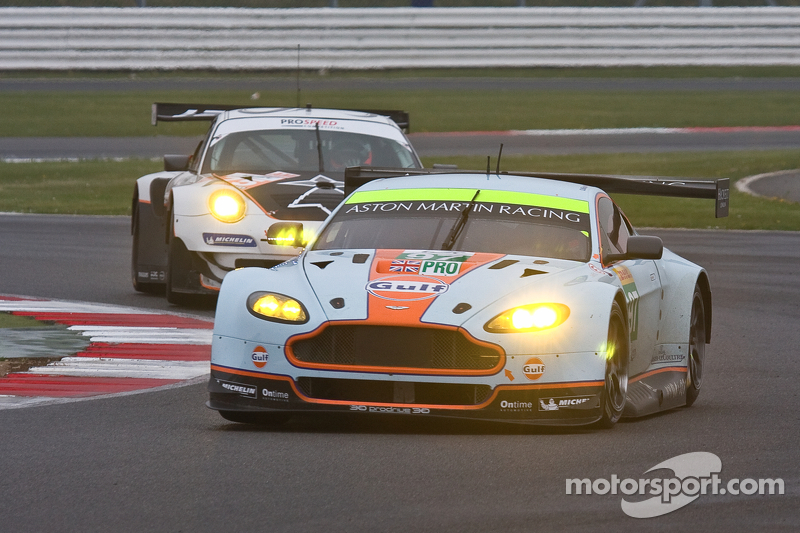 After the rain in Silverstone, a podium for Stefan Mücke