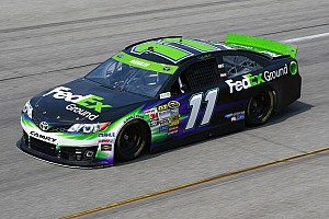 NASCAR Cup Interview Richmond: Denny Hamlin home track