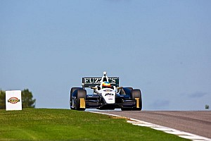 IndyCar Qualifying report Lockup on 1st qualifying lap hurts Conway's chances