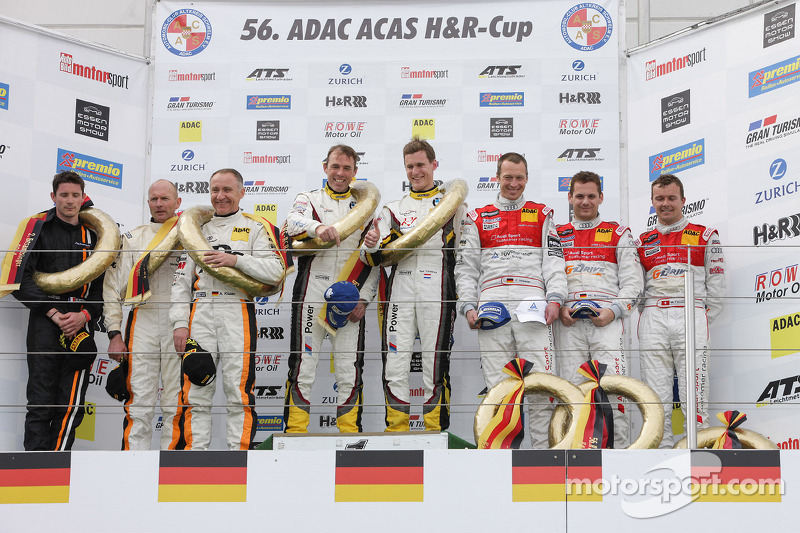 Winning feeling for Marc VDS at VLN3