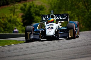 IndyCar Interview Conway's weathering the storm in Barber