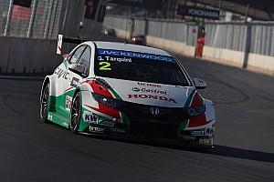 WTCC Testing report Honda cars set testing pace at Hungaroring