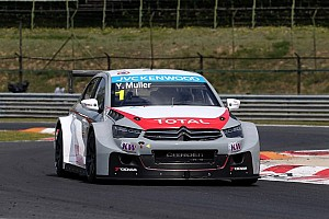 WTCC Qualifying report Muller defeats teammate López for pole position