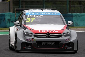 WTCC Testing report Honda within one second from Citroen in testing at the Slovakiaring