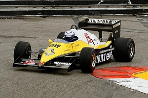 Formula 1 Special feature Alain Prost back in his Renault F1 Turbo from 1983