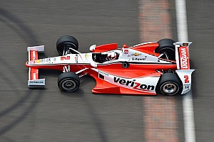 IndyCar Practice report Team Penske stays busy during second day of Indy 500 practice