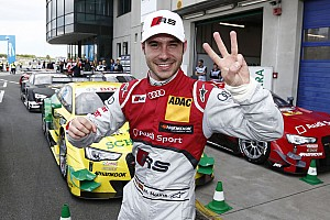 DTM Qualifying report Molina claims pole position for Audi at Oschersleben