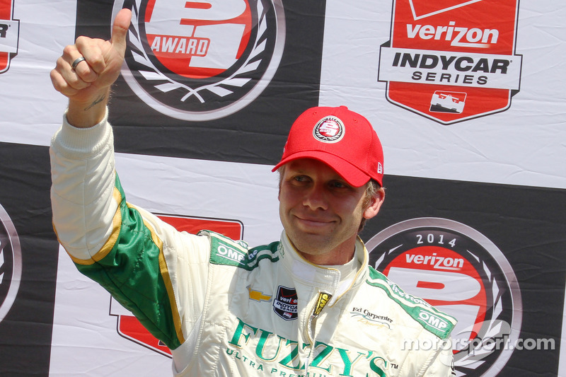Carpenter claims Indianapolis 500 pole for second consecutive year