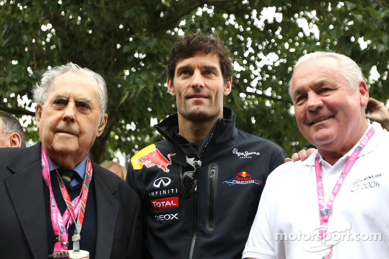Mark Webber talks about Sir Jack Brabham