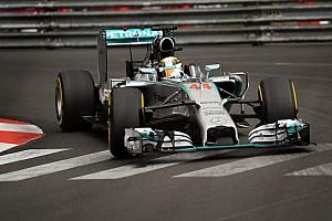 Formula 1 Practice report Hamilton quickest as Monaco GP weekend gets underway