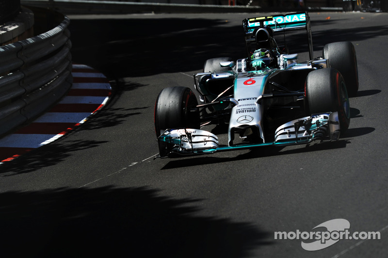 Monaco GP: Sixth straight pole position for Mercedes