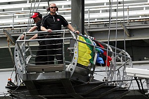 IndyCar Interview The 34th best seat at the Indianapolis 500