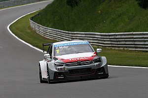 WTCC Race report Muller takes Race One victory ahead of Coronel