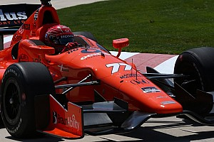 IndyCar Practice report Pagenaud fastest in Detroit IndyCar practice