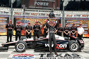 IndyCar Qualifying report Power and Newgarden make up the front row at Texas