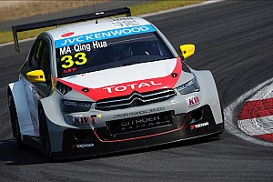 WTCC Race report Ma Qing Hua writes motorsports history in Race Two