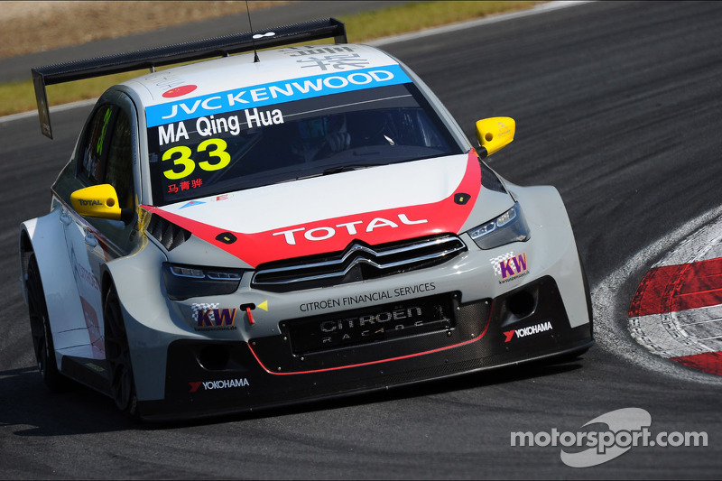 Ma Qing Hua writes motorsports history in Race Two